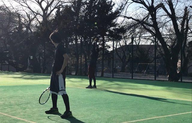 久しぶりの家族でテニスしてきました!