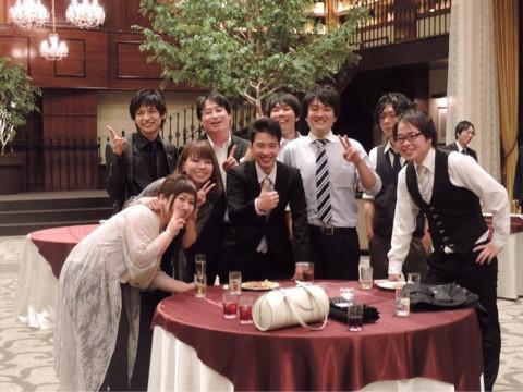 結婚式二次会に参加してきました